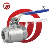 Two - piece stainless steel ball valve Q11F